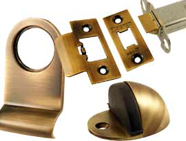Antique Coated Brass Door Accessories