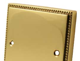 Adam Polished Brass Electrical Accessories