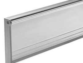 Aluminium Letter Plates and Tidies
