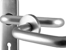 Aluminium Lever Door Handles
