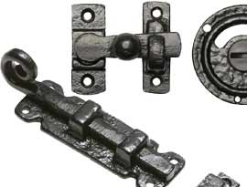 Black Antique Bolts & Turns