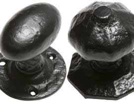 Black Antique Door Knobs