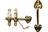Antique Brass Thumb Latches