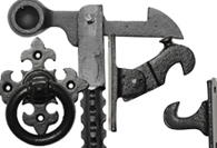 Black Iron Door & Gate Furniture