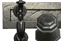 Black Iron Front Door Furniture