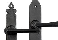 Blacksmith Forge Lever handles