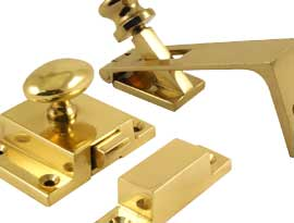 Brass Bolts and Catches