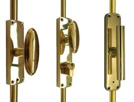 Brass Espagnolette Bolts