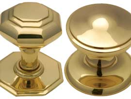 Brass Centre Door Knobs