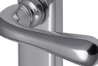 POLISHED Chrome Lever Door Handles