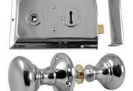 Polished Chrome Rim Furniture and Locks