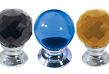 Coloured Glass Cupboard Knobs