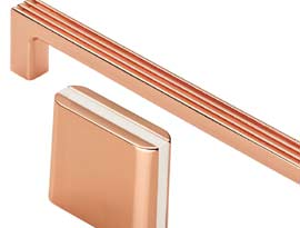 Copper Finish Cabinet Fittings
