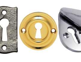 Key Hole Escutcheons