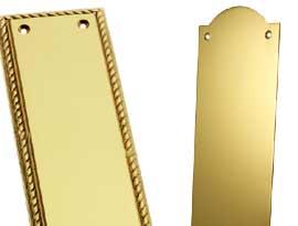 Brass Finger Plates
