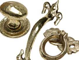 Antique Brass Pull & Cabinet Handles