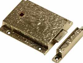 Antique Brass Rim Latches & Locks