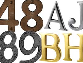 House Numbers & Letters