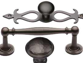Imitation Matt Bronze Finish Cabinet Handles