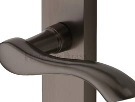 Imitation Matt Bronze Finish Door Handles