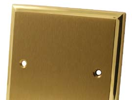 Mayfair Dual Brass Electrical Accessories