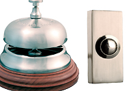 Satin Nickel Finish Bells and Bell Pushes
