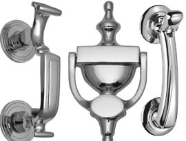 Polished Chrome Door Knockers