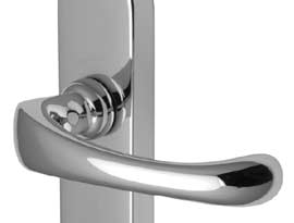 POLISHED Chrome Lever Door Handles