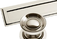 Polished Nickel Finish Front Door Fittings