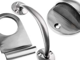 Pewter Finish Door Furniture Accessories