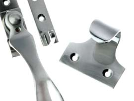 Pewter Finish Window Fittings