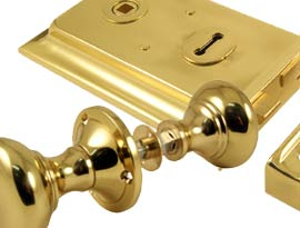 Brass Rim Furniture and Locks