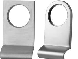 Satin Chrome Cylinder Pulls