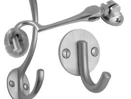 Satin Chrome Hooks
