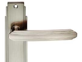 Satin Nickel Art Deco Style