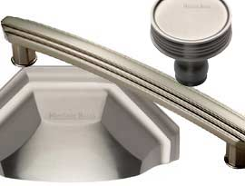 Satin Nickel Finish Cabinet Handles