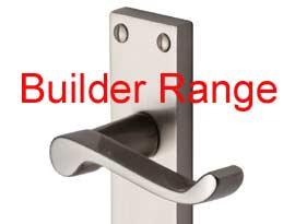 Builder Satin Nickel Plain Victorian