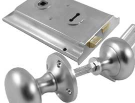 Satin Chrome Rim Furniture and Locks