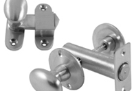 Satin Chrome Bolts and Catches