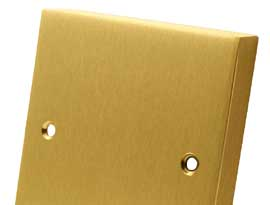 Satin Brass Style Electrical Accessories