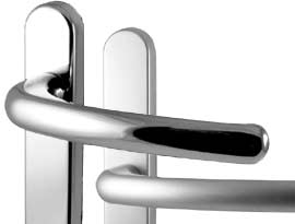 Chrome Silver & Satin UPVC and Multipoint Door Handles