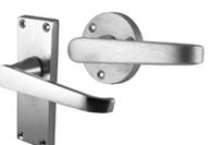 Satin Chrome Jedo Door Handles