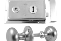 Satin Chrome Rim Furniture and Locks