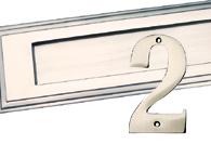 Satin Nickel Finish Front Door Fittings