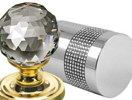 Mortice Door Knobs with Swarovski Elements