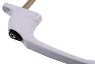 White UPVC and Multipoint Window Handles