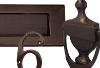 Imitation Bronze Front Door Accessories
