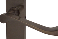 Imitation Bronze Lever Door Handles