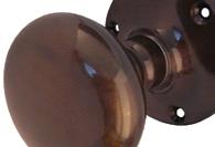 Imitation Bronze Mortice Knobs