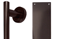 Imitation Bronze Pull Handles and Finger Plates
